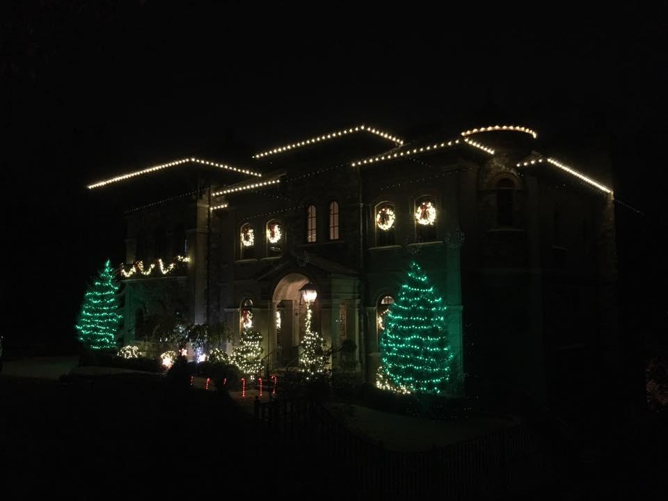 buford christmas light installation